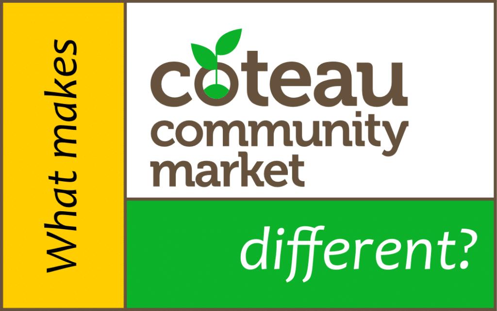 What makes Coteau Community Market different?